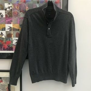 Banana Republic quarter zip sweater
